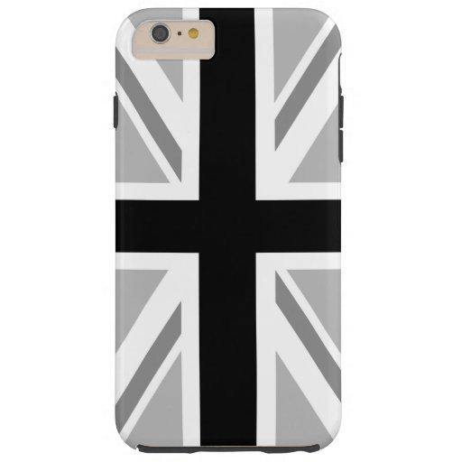 Union Jack/Flag Monochrome Tough iPhone 6 Plus Case