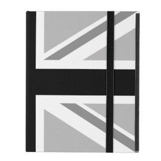 Union Jack/Flag Monochrome iPad Case