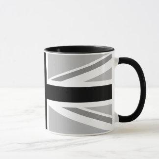 Union Jack/Flag Monochrome Mug