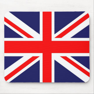 Union Jack flag Mouse Pad