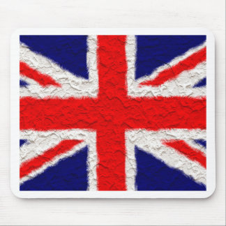 Union jack flag national country mouse pad