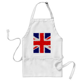 Union jack flag national country standard apron