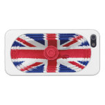 Union Jack Flag Of Great Britain Speaker iPhone 5 Covers For iPhone 5