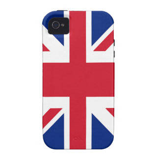 Union Jack - Flag of the United Kingdom iPhone 4/4S Cover