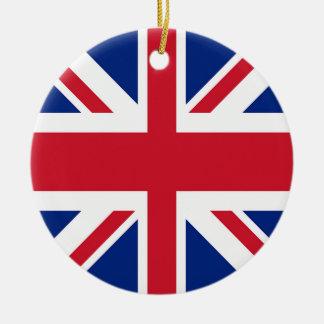 Union Jack - Flag of the United Kingdom Ceramic Ornament