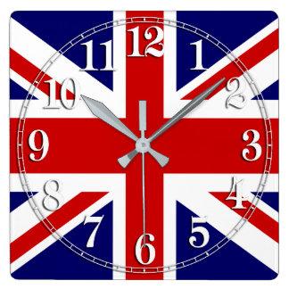 Union Jack Flag of the United Kingdom Clock