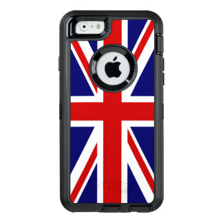Union Jack Flag of the United Kingdom OtterBox Defender iPhone Case