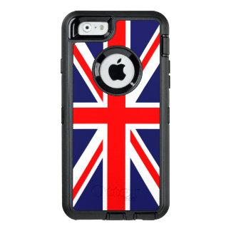 Union Jack Flag OtterBox Defender iPhone Case