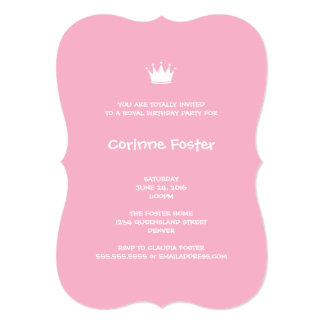 Union Jack Flag Pastel Pink Gingham 13 Cm X 18 Cm Invitation Card