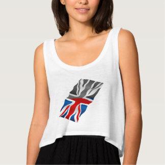 Union Jack  flag Singlet