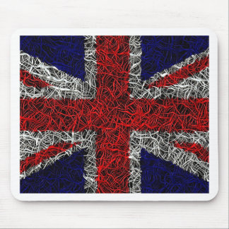 Union jack flag uk patriotic mouse pad