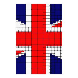 Union jack flag uk patriotic stationery