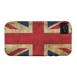 Union Jack Flag Vibe iPhone 4 Cover