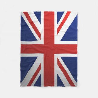 Union Jack Fleece Blanket