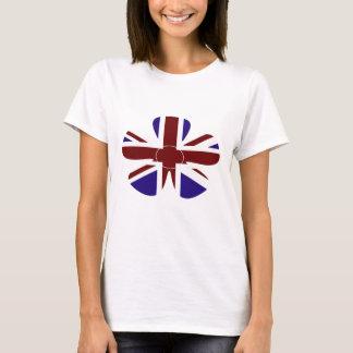 Union Jack Flower T-Shirt