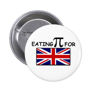 Union Jack funny slogan Button