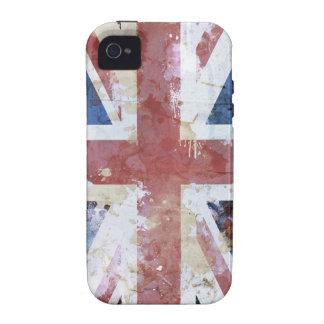 Union Jack Grunge iPhone 4 Cases