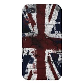 union jack grunge iPhone 4 case