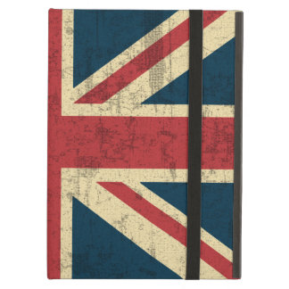 Union Jack Grungy Distressed iPad Air Cover