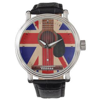 Union Jack Guitar Watch