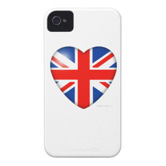 Union Jack Heart Blackberry Cases