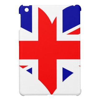 Union Jack Heart Flag iPad Mini Cover