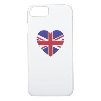 Union Jack Heart iPhone 7 Case