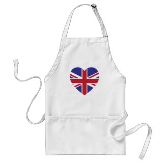 Union Jack Heart Kitchen Apron
