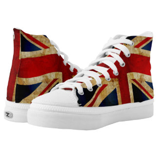 Union Jack... High Tops