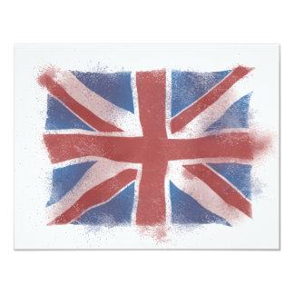 Union Jack Invitation