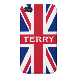 Union Jack Cover For iPhone 4