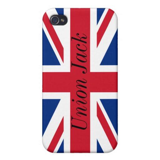 Union Jack iphone case` iPhone 4 Case