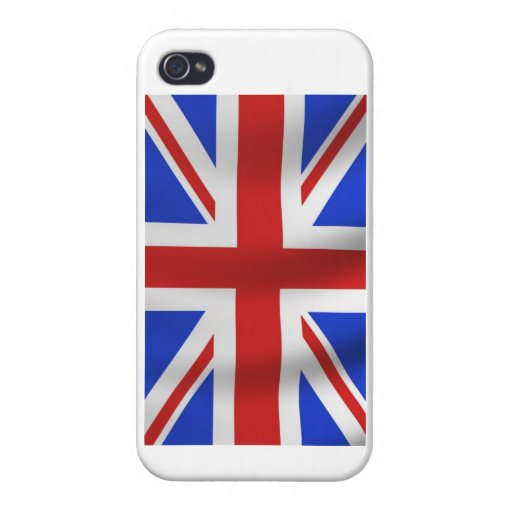 Union Jack iPhone Cover For iPhone 4