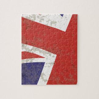 Union Jack Jigsaw Puzzle