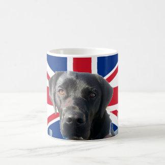 Union Jack Labrador Mug