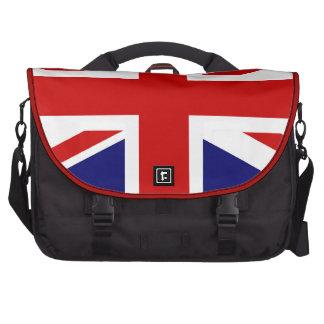 Union Jack Laptop Messenger Bag