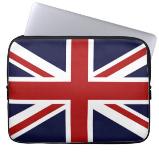Union Jack Laptop Computer Sleeve