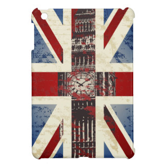 Union Jack London Big Ben iPad Mini Case