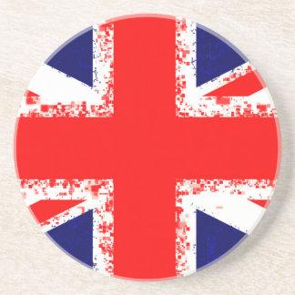 Union jack london flag uk coaster