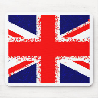 Union jack london flag uk mouse pad