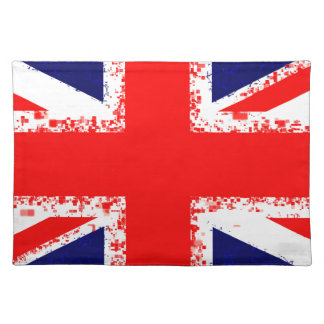 Union jack london flag uk placemat