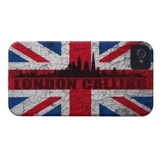 Union Jack London Skyline BlackBerry Hülle
