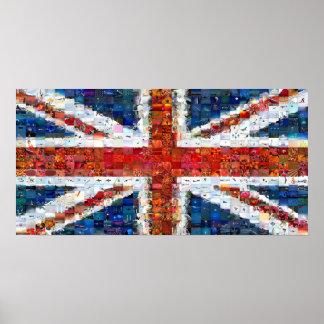 Union Jack Montage - Standard Print