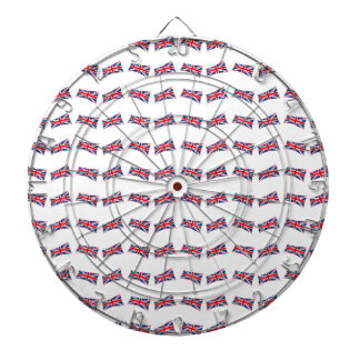 Union Jack Pattern Dartboard