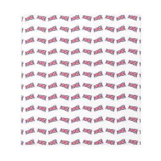 Union Jack Pattern Notepad
