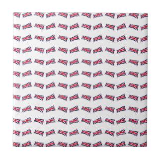 Union Jack Pattern Tile