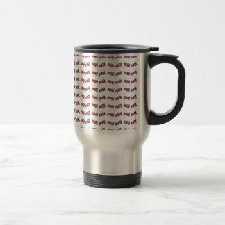 Union Jack Pattern Travel Mug