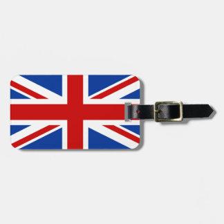 Union Jack Personalized Luggage Tag