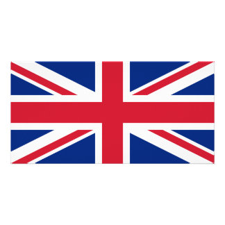 Union Jack Custom Photo Card