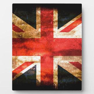Union Jack Photo Plaque